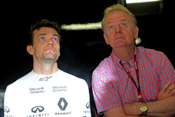 Jolyon Palmer, Renault Sport F1 Team en vader Jonathan Palmer