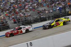 Justin Allgaier, JR Motorsports Chevrolet, Paul Menard, Richard Childress Racing Chevrolet
