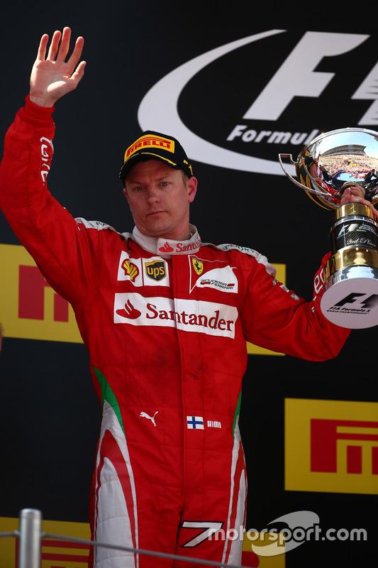 2. sıra Kimi Raikkonen, Scuderia Ferrari SF16-H
