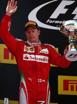 Secondo, Kimi Raikkonen, Scuderia Ferrari SF16-H