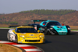 #4 PK Carsport Corvette C6R: Mike Hezemans, Anthony Kumpen, #33 Vitaphone Racing Team DHL Maserati MC 12: Alessandro Pier Guidi, Matteo Bobbi