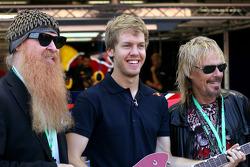 Sebastian Vettel, Red Bull Racing and ZZ Top