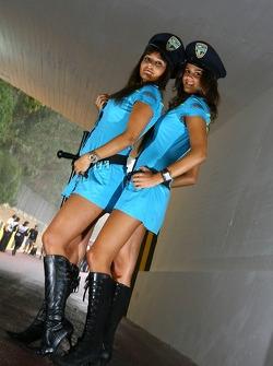 Lovely Rizla Suzuki MotoGP girls
