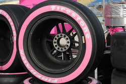 Sarah Fisher has special tires from Firestone