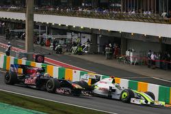 Jenson Button, Brawn GP y Jaime Alguersuari, Scuderia Toro Rosso