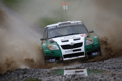 Eyvind Brynildsen and Denis Giraudet, Skoda Fabia S2000