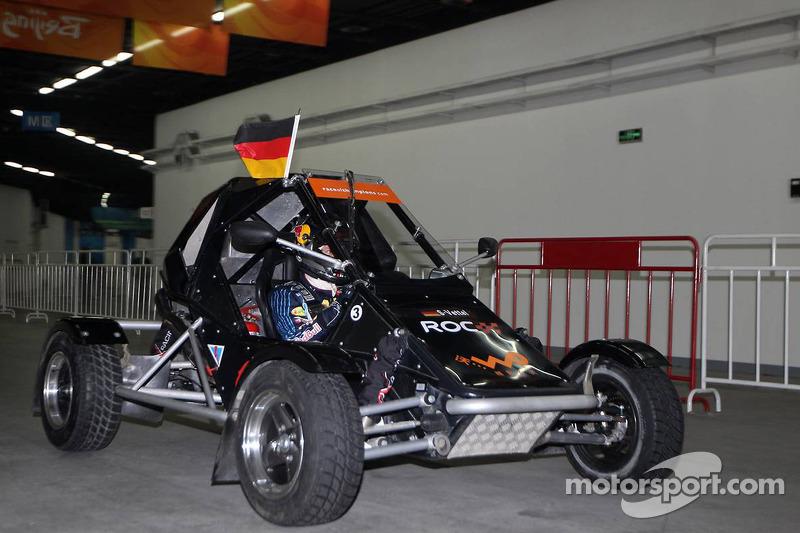 Semi final, race 3: Sebastian Vettel