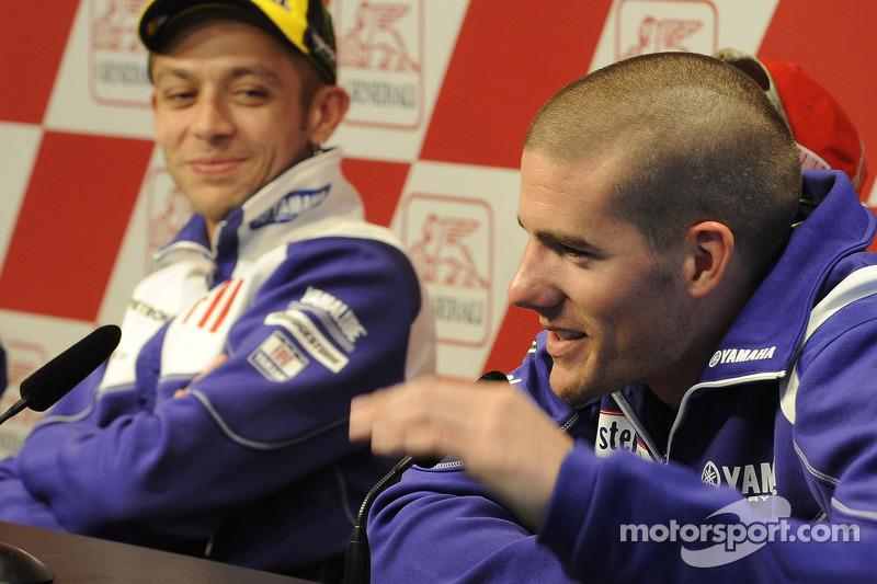 Conferencia de prensa: Valentino Rossi, Fiat Yamaha Team y Ben Spies, Yamaha Factory Racing
