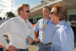 Richard Childress with former Indy and F1 champion Emerson Fittipaldi