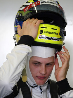 Marcus Ericsson, Tests pour BrawnGP