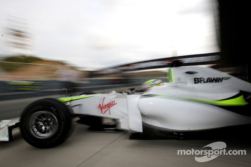 Маркус Ерікссон, Brawn BGP001 Mercedes