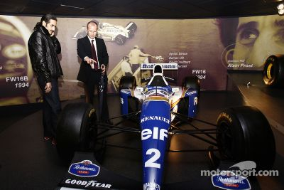 Sheikh Khalid bin Hamad Al-Thani Williams F1 test sürüşü