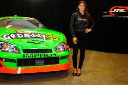 Danica Patrick GoDaddy.com Chevrolet