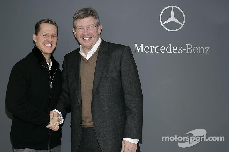 23 décembre 2009 - Recrutement de M. Schumacher