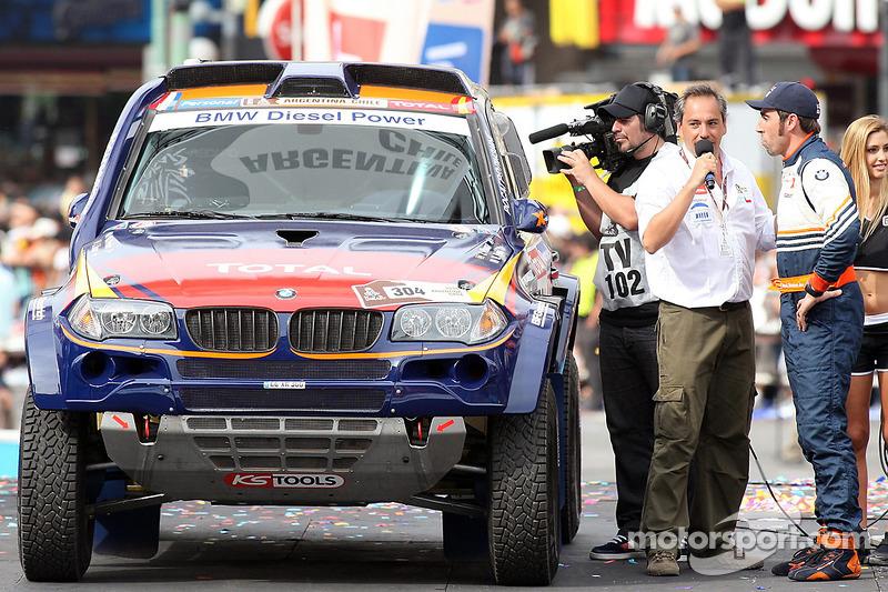 #304 BMW: Nani Roma y Michel Perin