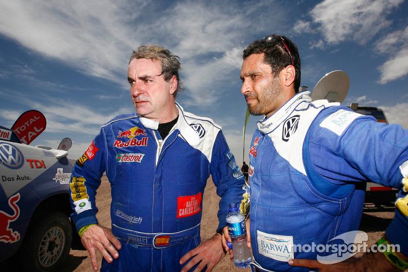 Carlos Sainz et Nasser Al Attiyah