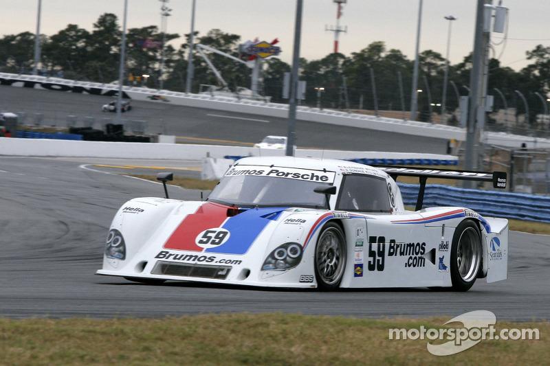 #59 Brumos Racing Porsche Riley: David Donohue, Hurley Haywood, Darren Law, Butch Leitzinger, Raphae