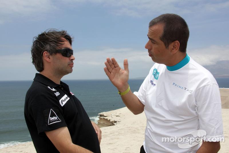 Ricardo Leal dos Santos et Carlos Sousa