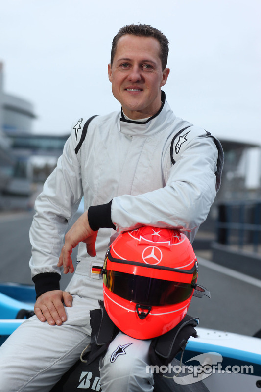 Michael Schumacher test GP2 wagen