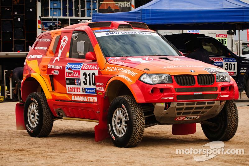 El BMW #310 de Leonid Novitskiy y Andreas Schulz