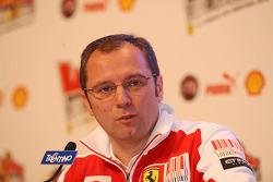 Conférence de presse Stefano Domenicalli
