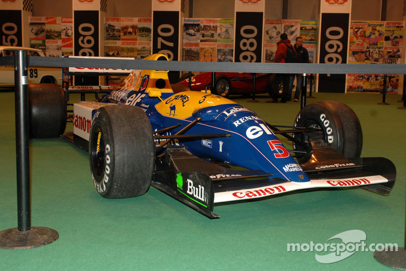 La Williams F1 1992 victorieuse de Nigel Mansell
