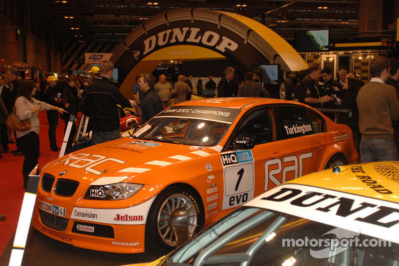 La BTCC Team RAC BMW 2009 victorieuse de Colin Turkingtons