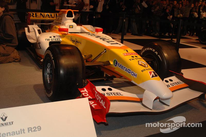 Renault F1 wagen