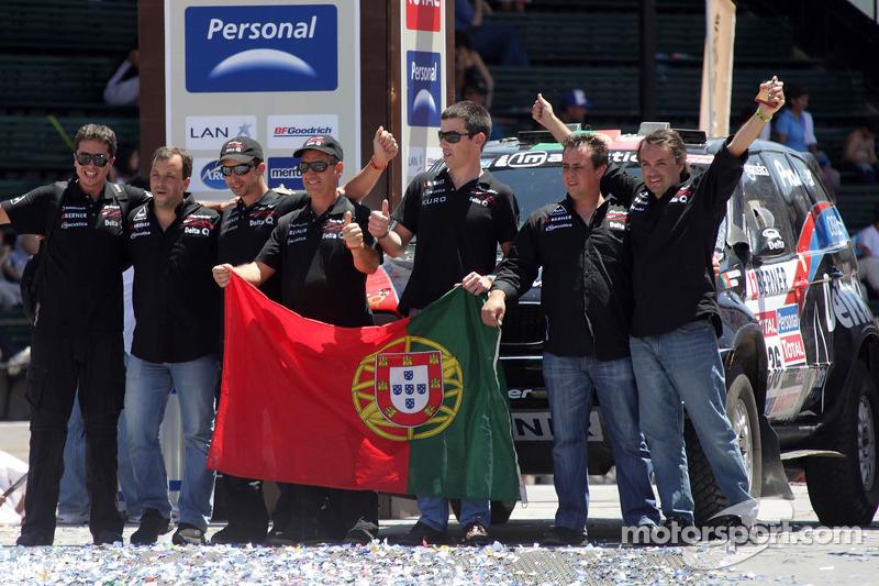 Auto's podium: Ricardo Leal dos Santos en Paulo Fiuza