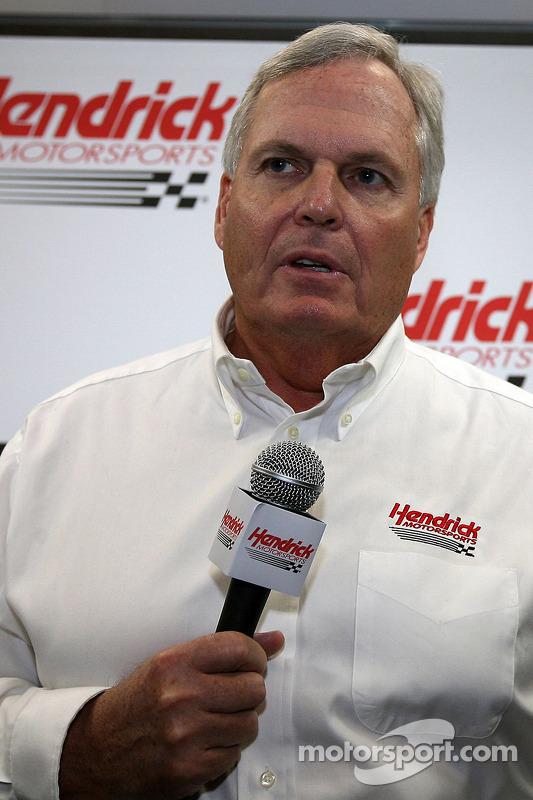 Team eigenaar Rick Hendrick