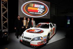 NASCAR Steve Williams, Bob Duval, Richard Buck and George Silbermann