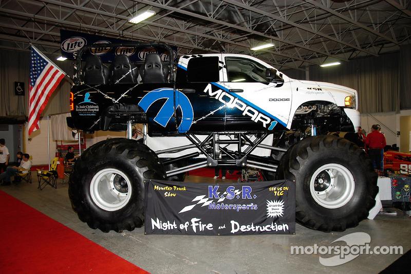 Tout le monde aime les Monster Trucks, on peut y trouver de grands pilotes tout autant que de gros moteurs