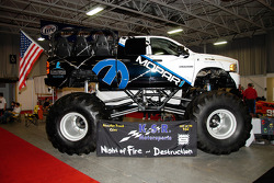 You can find big racers as well as big engines.  Everyone loves Monster Trucks.