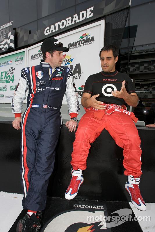 Patrick Dempsey et Juan Pablo Montoya