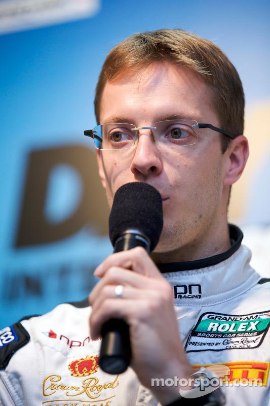 Conférence de presse NPN Racing: Sébastien Bourdais