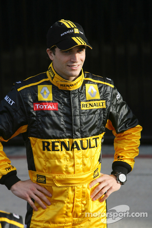 Jerome D'Ambrosio, Renault-Testfahrer