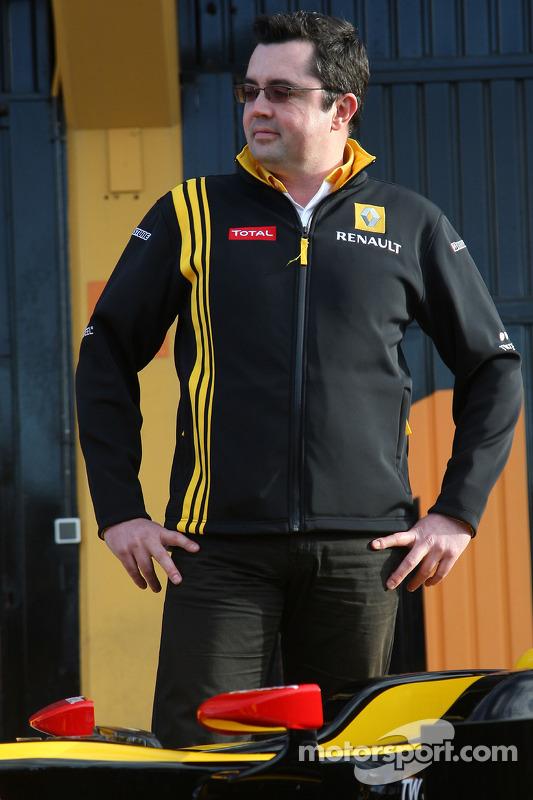 Eric Boullier, Renault-Teamchef