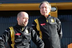 Жерар Лопес, глава Genii Capital, и Жан-Франсуа Кобе, директор Renault F1