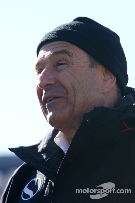 Peter Sauber, BMW Sauber F1 Team, le propriétaire d'équipe