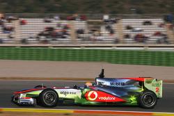 Lewis Hamilton, McLaren Mercedes, McLaren use aero paint