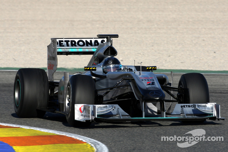 Michael Schumacher, Mercedes GP W01