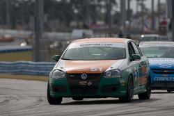 #51 Irish Mike's Racing Volkswagen Jetta: Todd Buras, Jack Corthell, Stan Wilson