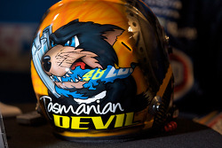 Helmet of Marcos Ambrose, JTG Daugherty Racing Toyota
