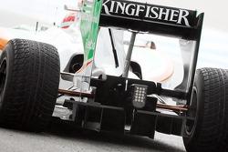 Vitantonio Liuzzi, Test Driver, Force India F1 Team, VJM-03, detail