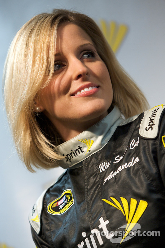 Miss Sprint Cup persconferentie: Amanda Wright