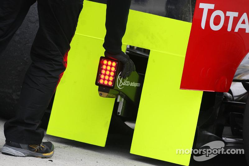 Afgedekte achterkant, Renault F1 Team, R30