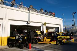 Richard Petty Motorsports Ford garage area