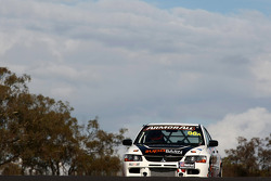 #96 Supabarn Supermarkets Pty Ltd, Mitsubishi Evo 9 RS: James Koundouris, Theo Koundouris, Steve Owen