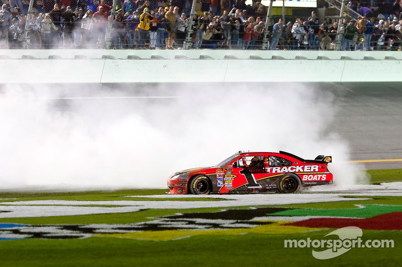 Race winnaar Jamie McMurray, Earnhardt Ganassi Racing Chevrolet