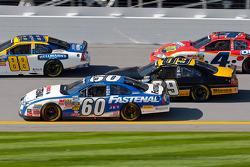Carl Edwards, Scott Riggs, Dale Earnhardt Jr. en Tony Stewart